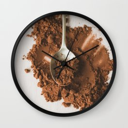 All of the chocolate Wall Clock