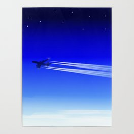 Jet Heading Home Poster