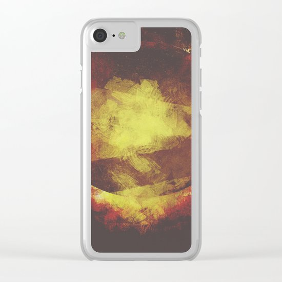 The baby moon Clear iPhone Case