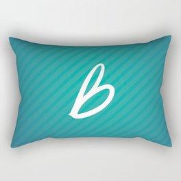 Les Recettes du bonheur texture Rectangular Pillow