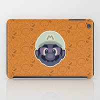 mario iPad Cases featuring Mario by Kuki