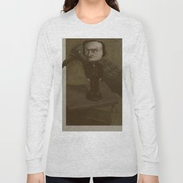 Poe and the Raven Long Sleeve T-shirt