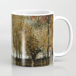 Vincent Van Gogh Poplars Near Nuenen Coffee Mug