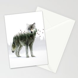 Wild I Shall Stay | Wolf Stationery Cards