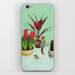 Plants Can Be Friends Too iPhone Skin