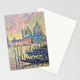 Paul Signac - The Grand Canal, Venice Stationery Cards