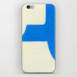 Driveway in Blue iPhone Skin