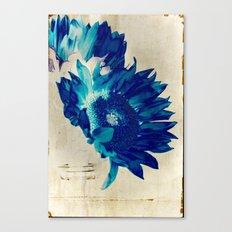 Sapphire Petal Canvas Print