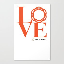 Love Saatchi Art Canvas Print