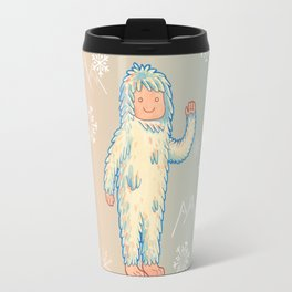 Yeti - Cute Cryptid Travel Mug