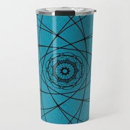 blue rotunda Travel Mug