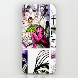 Sketches iPhone Skin