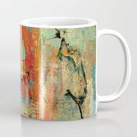 helen Mugs featuring Trojan Horse by Fernando Vieira