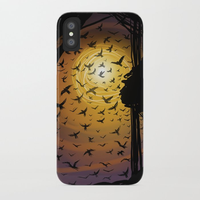 Flock Together iPhone Case