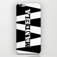 mandela iPhone & iPod Skins featuring Mandela tribute by Brian Raggatt
