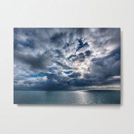 Stormy skies Metal Print