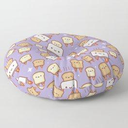 Space Toast Floor Pillow