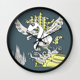 Magical Mystery Backpack Wall Clock