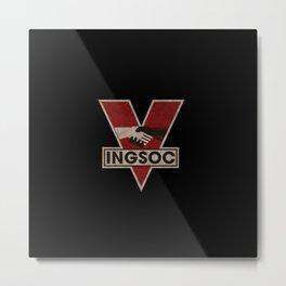 INGSOC Metal Print
