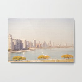 Summer In The City Chicago Metal Print
