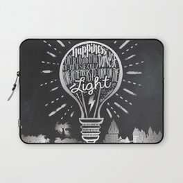 Happiness Can Be Found in the Darkest of Times Laptop Sleeve