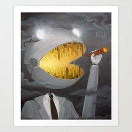 Executive Planet Eater Art Print