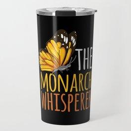 Butterfly - Monarch Whisperer Travel Mug