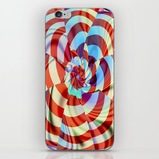 Red White and Blue iPhone Skin