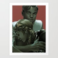 great gatsby Art Prints featuring Gatsby by Skyfisher