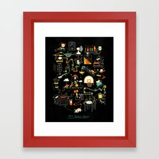 Breakfast Machine Framed Art Print