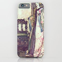 Arthur Rackham - Lamb's Tales from Shakespeare (1909) - Cordelia (King Lear) iPhone Case