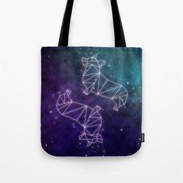 Corgstellation Tote Bag
