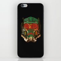 star lord iPhone & iPod Skins featuring Star Lord by R. Cuddi