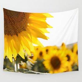 Sunflower's Season (I) Wall Tapestry