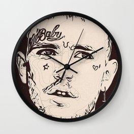 Lil Peep art Wall Clock