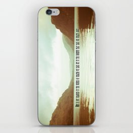 The moments that take our breath away.  iPhone Skin