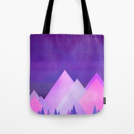 Morning In The Mountains Tote Bag