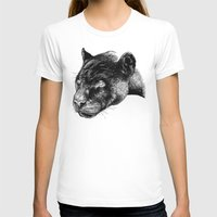 panther T-shirts featuring Panther by Mark Matlock