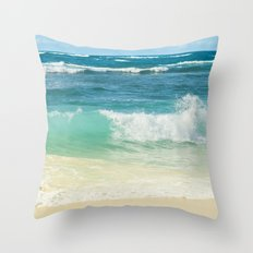 Summer Sea Throw Pillow