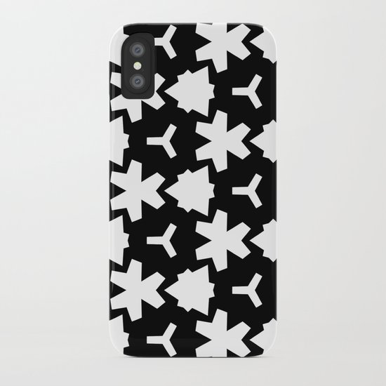 Weizigt Black & White iPhone Case