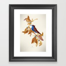 song bird Framed Art Print