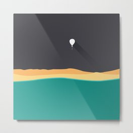 fly balloon Metal Print