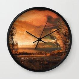 Natural Wonder Wall Clock