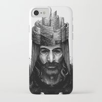 kate bishop iPhone & iPod Cases featuring Bishop by Justine Nortje