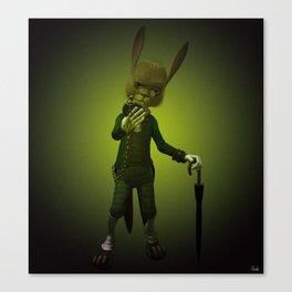 Hare o' Clock Canvas Print
