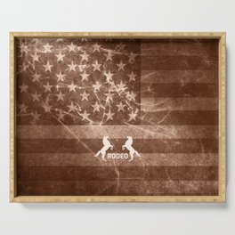 Vintage Rodeo Rustic Serving Tray