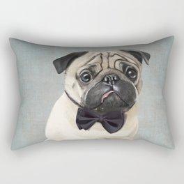 Mr Pug Rectangular Pillow