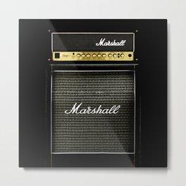 Gray amp amplifier Metal Print