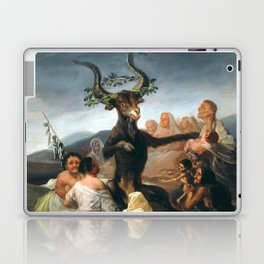The Sabbath of Witches Goya Painting Laptop & iPad Skin