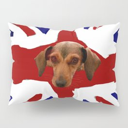 The Smooth Side of being British Pillow Sham